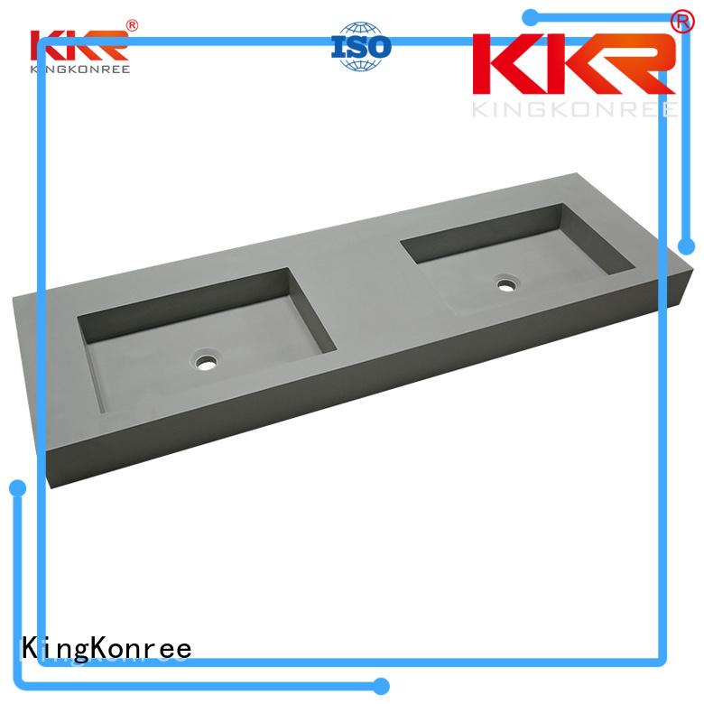 wall mounted bathroom basin ware mount acrylic KingKonree Brand wall mounted wash basins