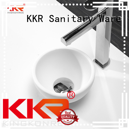 quality acrylic KingKonree Brand oval above counter basin