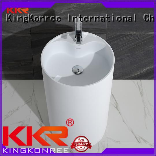 bathroom free standing basins wash bathroom freestanding basin KingKonree Brand