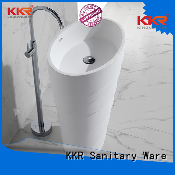 KingKonree Brand square bathroom bathroom free standing basins