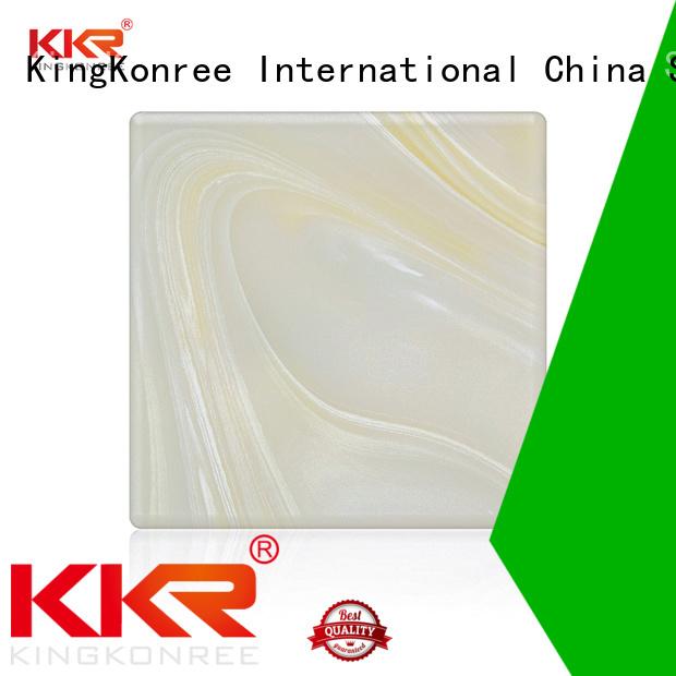 kkr surface backlit translucent acrylic wall panels solid KingKonree Brand