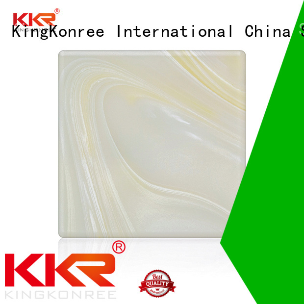 kkr surface backlit translucent acrylic wall panels solid KingKonree Brand