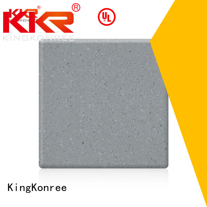 acrylic solid surface sheet sheets kkr modified KingKonree Brand modified acrylic solid surface