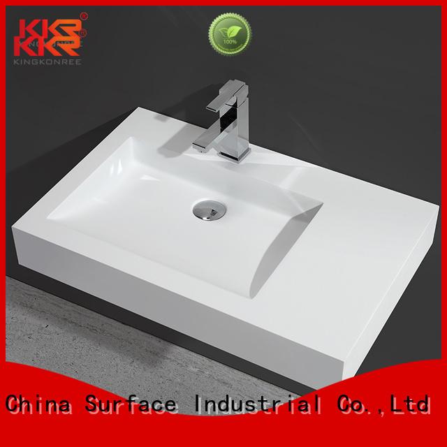 kkr sales resin wall mounted wash basins mounted KingKonree