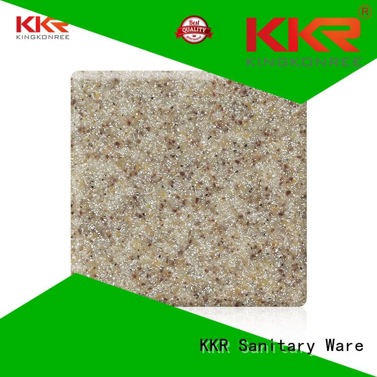 KingKonree Brand 96 kkr acrylic custom acrylic solid surface sheet
