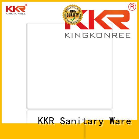 length surface modified acrylic solid surface sheets kkr KingKonree company