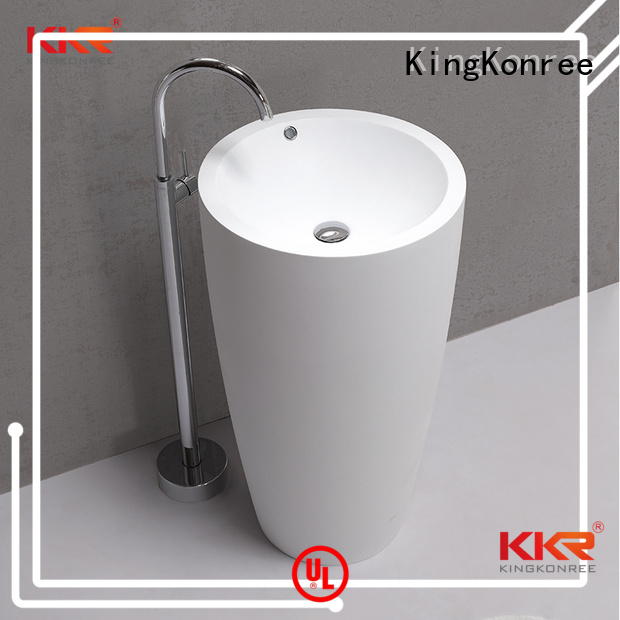 Hot free bathroom free standing basins marble KingKonree Brand