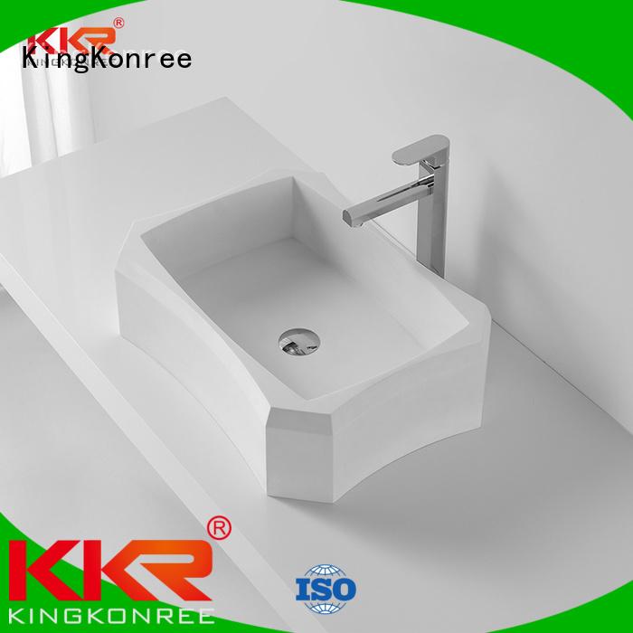 oval acrylic oval above counter basin pure above counter basins KingKonree Brand quality shape