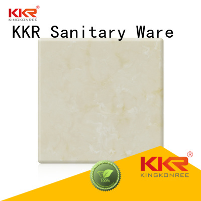 surface pattern solid artificial KingKonree Brand solid surface sheets supplier