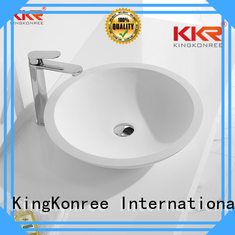 wash sanitary kkr basin oval above counter basin KingKonree Brand