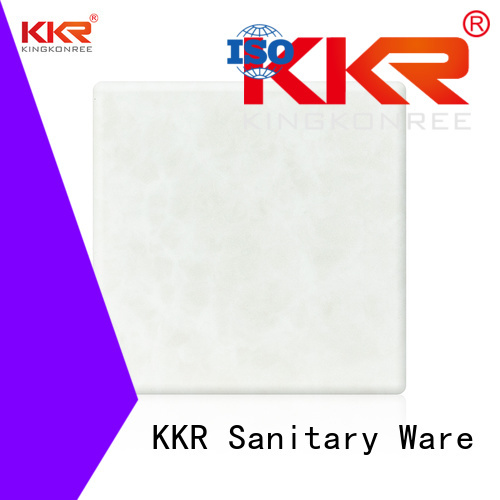 KingKonree Brand stone sheets translucent backlit translucent acrylic wall panels