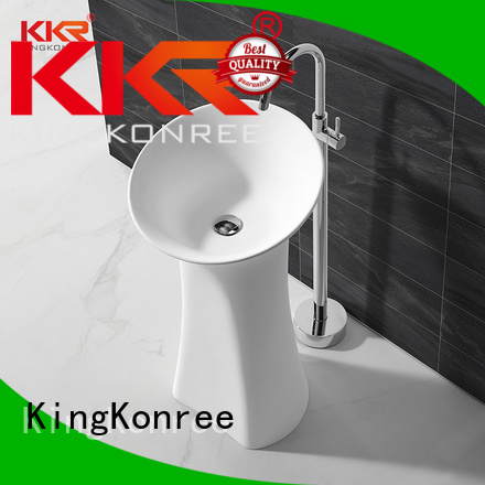 wash shape KingKonree Brand freestanding basin
