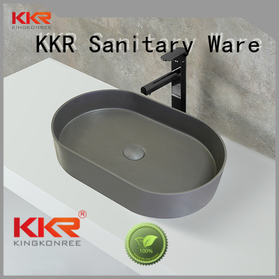 oval above counter basin wash selling KingKonree Brand