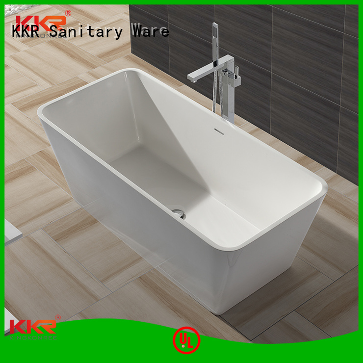acrylic 1800mm solid surface bathtub b002c bathroom KingKonree company