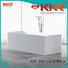 resin solid surface bathtub round KingKonree company