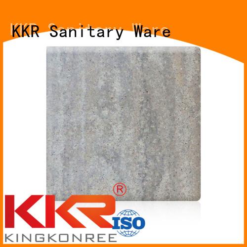 texture surface sheets KingKonree Brand solid acrylic sheet manufacture