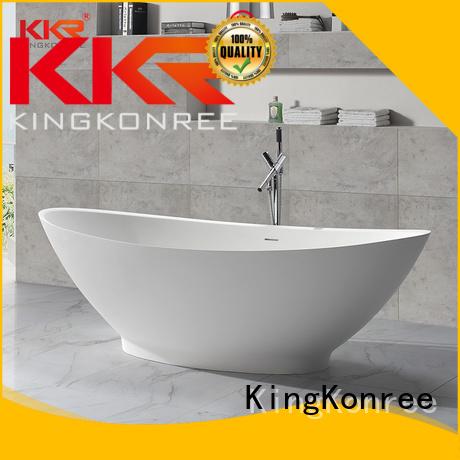 Solid Surface Freestanding Bathtub artificial bathtubs KingKonree Brand company