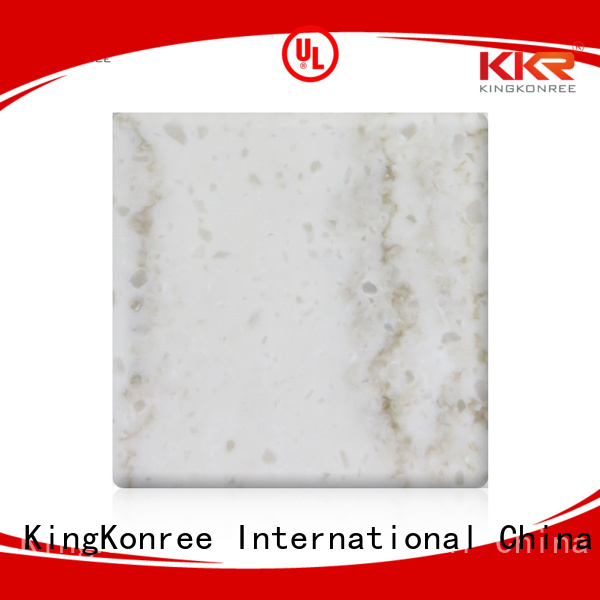 KingKonree Brand marble artificial solid kkr solid surface sheets