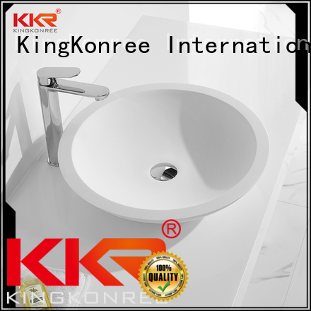 oval above counter basin bathroom sanitary KingKonree Brand company