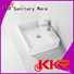 basin counter shape above counter basins KingKonree
