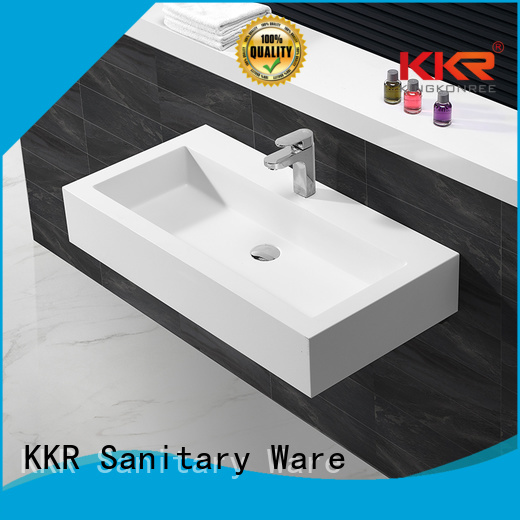 Quality KingKonree Brand hung wall wall mounted wash basins