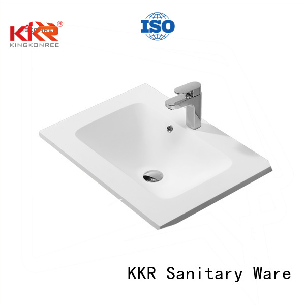 Hot basin basin with cabinet price acrylic KingKonree Brand