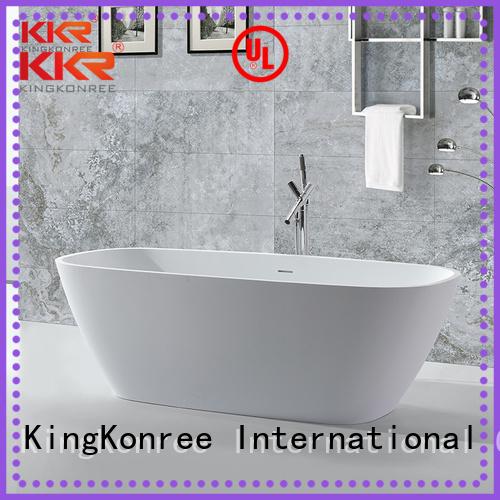 Solid Surface Freestanding Bathtub resin bath solid surface bathtub KingKonree Brand