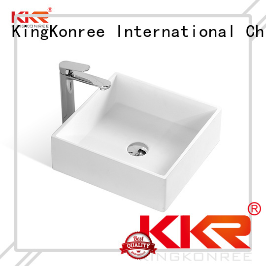 Hot above counter basins white KingKonree Brand