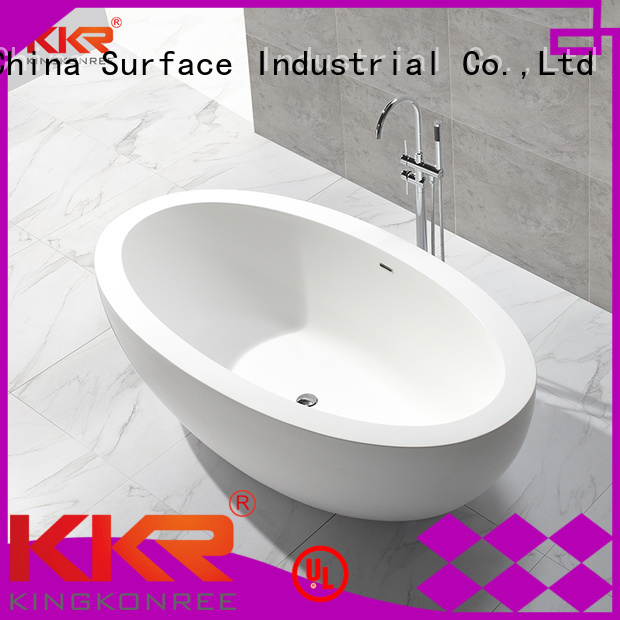 Hot solid surface bathtub sales KingKonree Brand