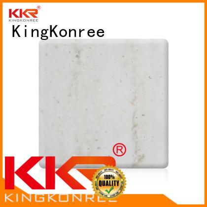 Hot pattern solid acrylic sheet marble KingKonree Brand