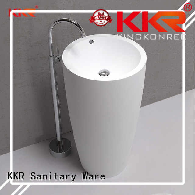 diamond fancy bathroom free standing basins acrylic KingKonree company