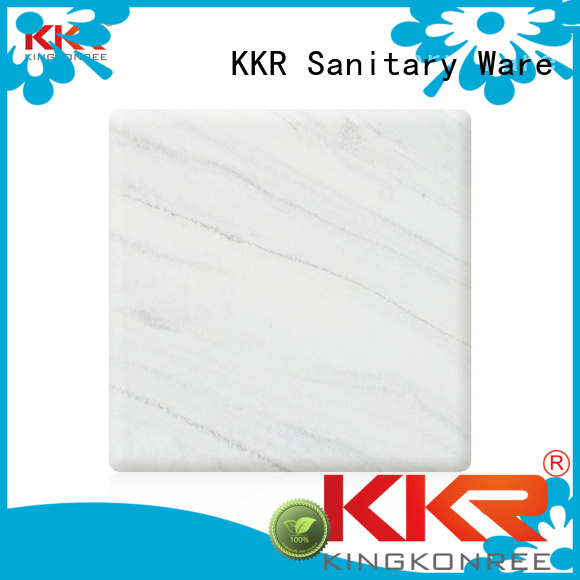 solid acrylic sheet artificial pattern texture Warranty KingKonree