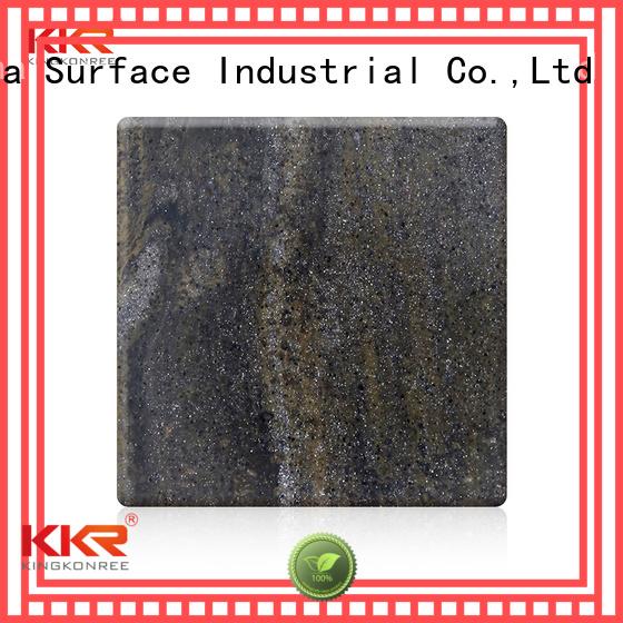 sheets pattern kkr KingKonree Brand solid surface sheets supplier
