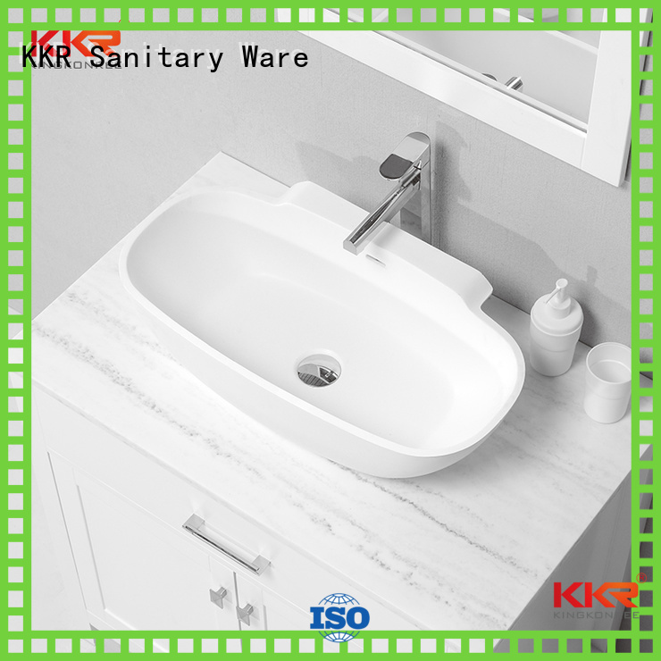 egg kkr KingKonree Brand oval above counter basin factory