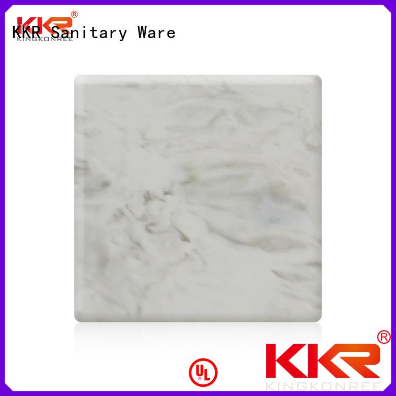 KingKonree Brand pattern solid surface sheets sheets factory
