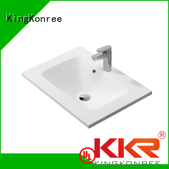 Quality KingKonree Brand marble cloakroom basin with cabine