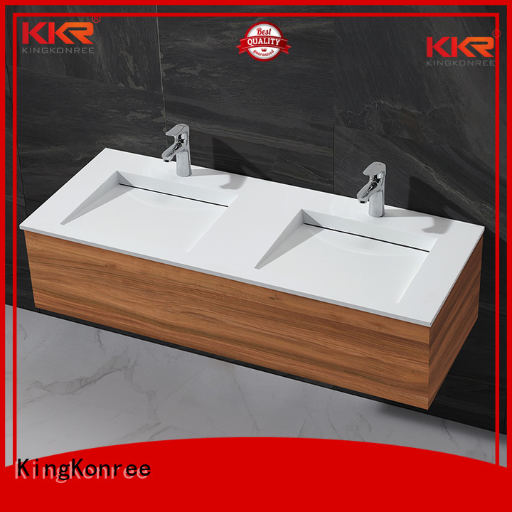 KingKonree Brand solid cloakroom basin with cabine basin factory