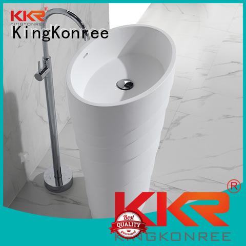 square wash bathroom free standing basins surface bathroom KingKonree Brand