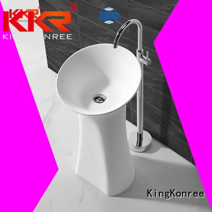 bathroom free standing basins standing shape Warranty KingKonree