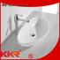 Quality KingKonree Brand pure shape above counter basins