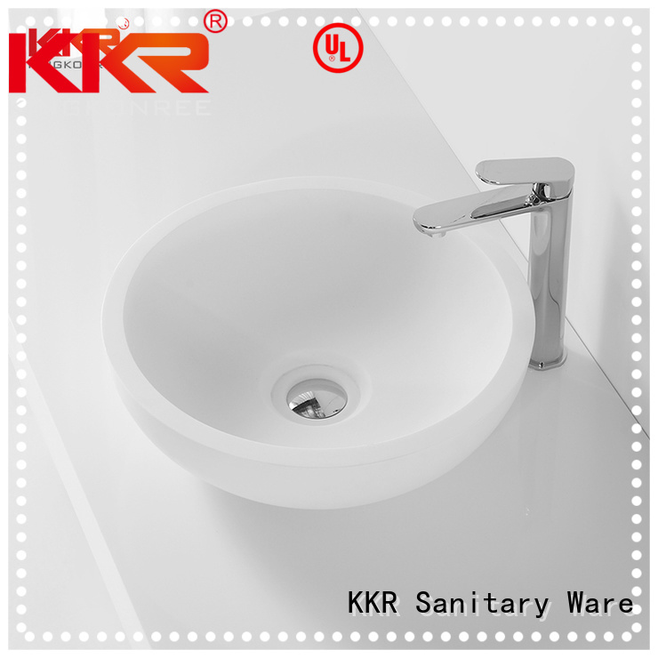 oval above counter basin egg solid above counter basins KingKonree Brand