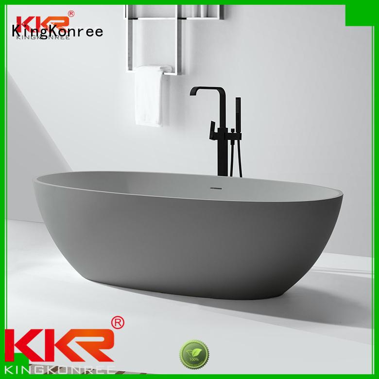 Wholesale over b006 solid surface bathtub KingKonree Brand