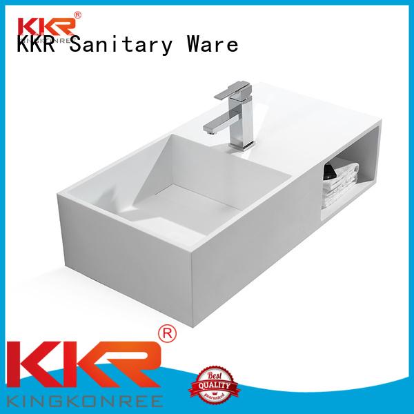 Wholesale bath mount wall mounted wash basins KingKonree Brand