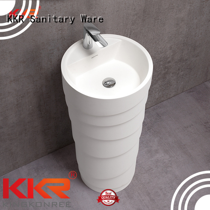 Custom bathroom design freestanding basin KingKonree standing