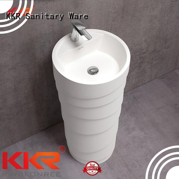 Custom bathroom design freestanding basin KingKonree standing