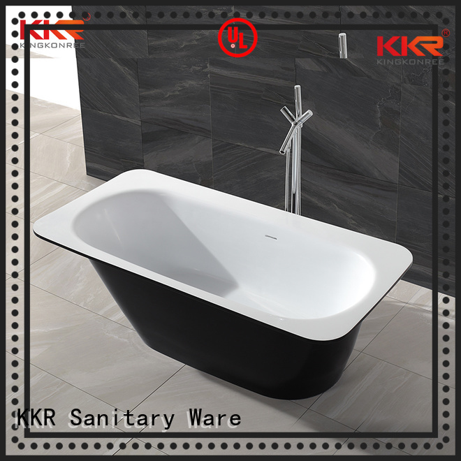 Solid Surface Freestanding Bathtub design renewable b005 solid surface bathtub manufacture