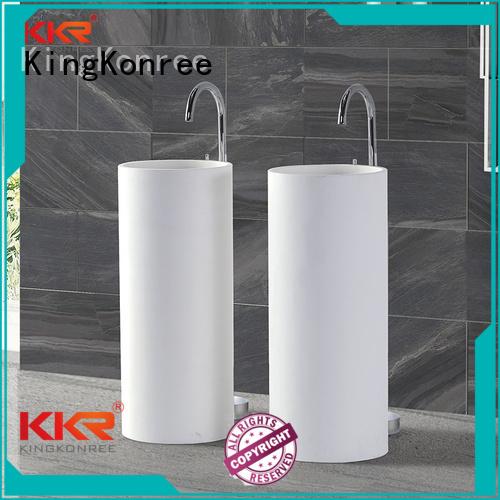 marble acyrlic bathroom free standing basins KingKonree Brand