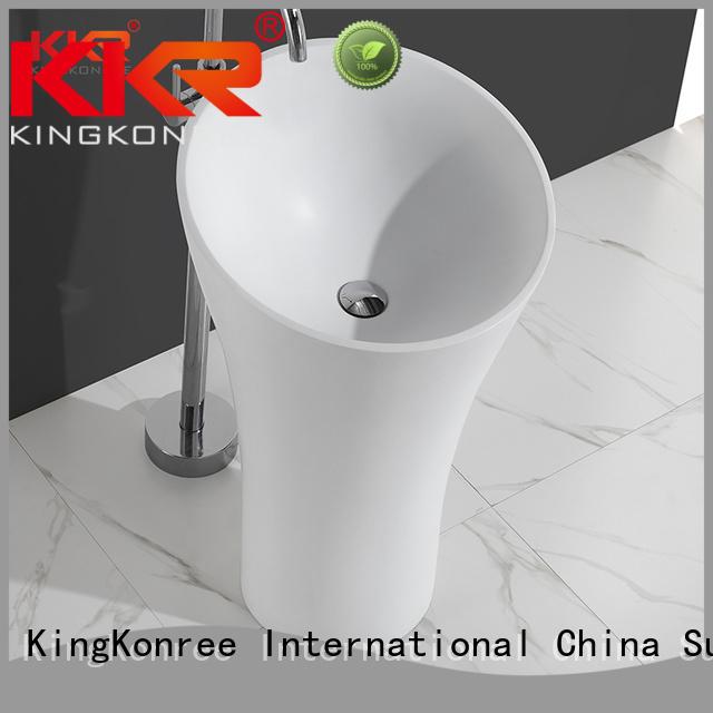 bathroom standing unique KingKonree Brand bathroom free standing basins factory