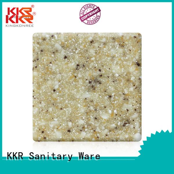 Wholesale solid 96 modified acrylic solid surface KingKonree Brand