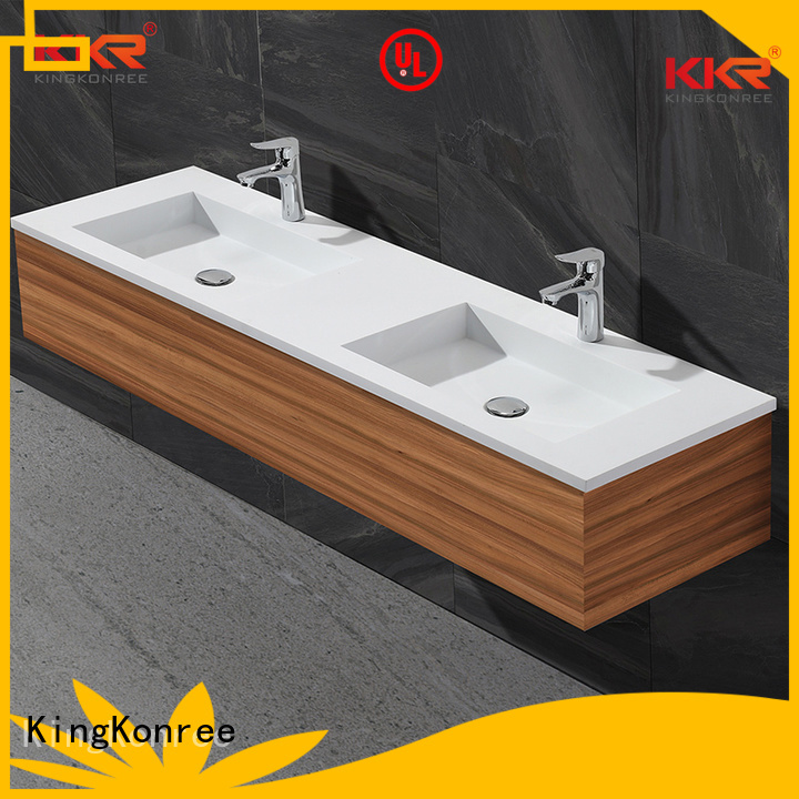 Wholesale ware basin with cabinet price KingKonree Brand